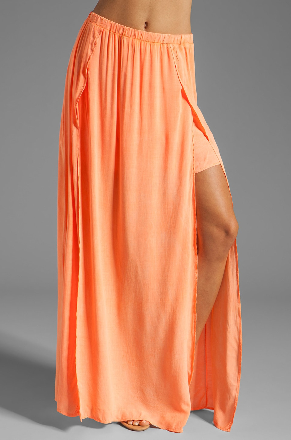 WOODLEIGH Nova Skirt in Orange Sorbet