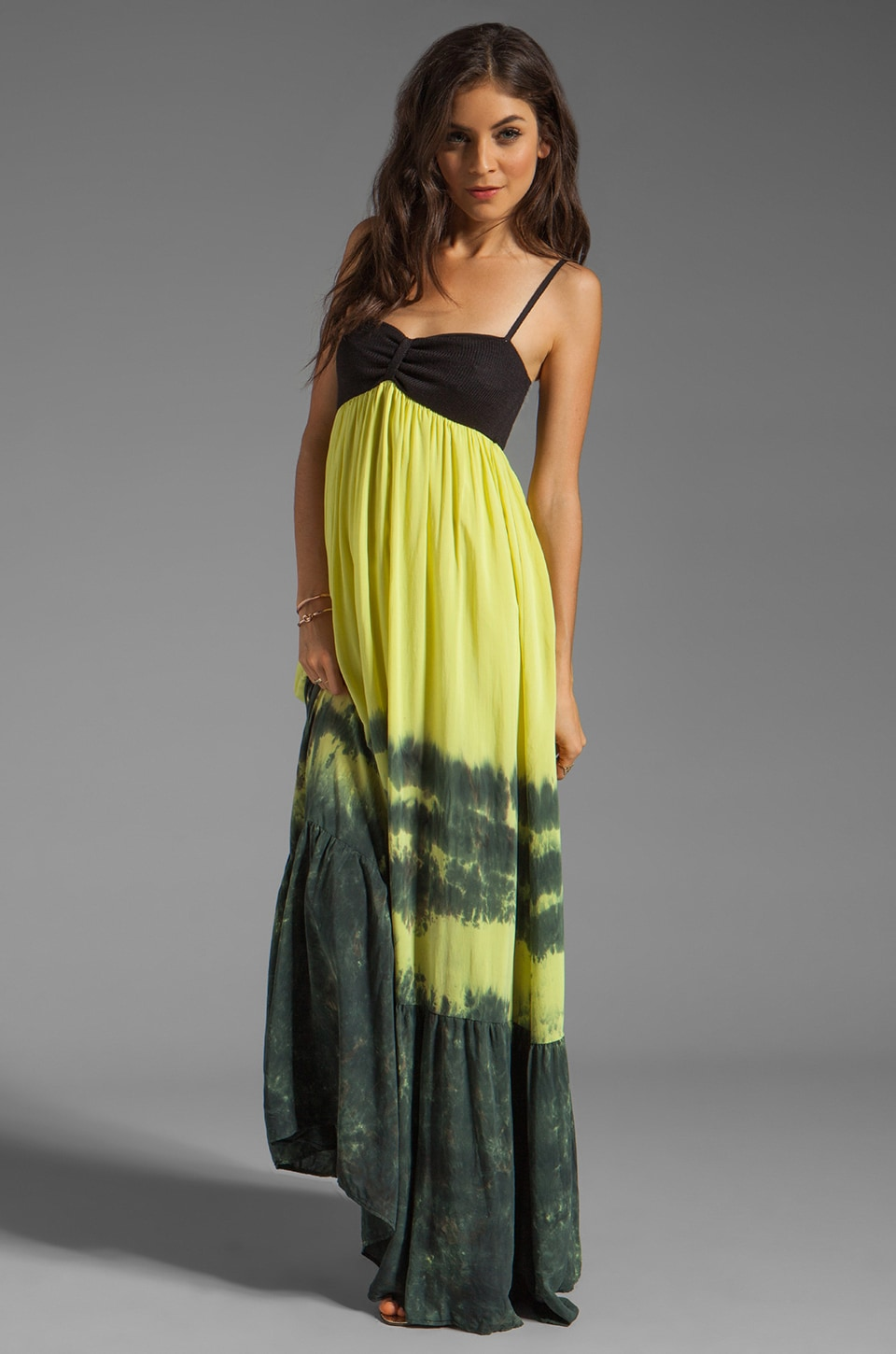 WOODLEIGH Iris Maxi in Lemon Wash