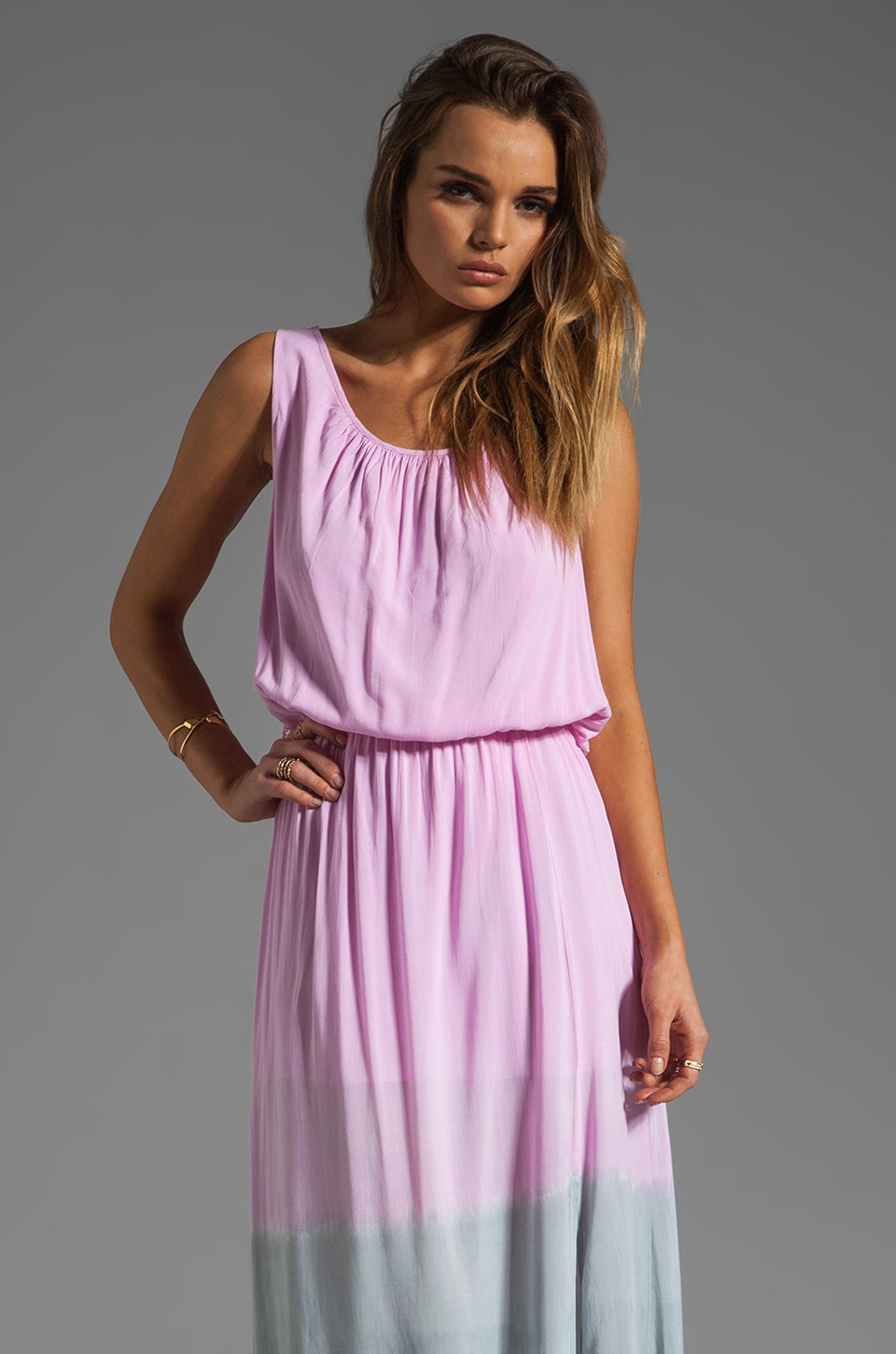 WOODLEIGH Quinn Dress in Blush