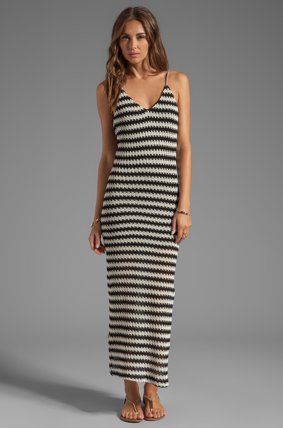 WOODLEIGH Sadie Maxi in Black/Cream