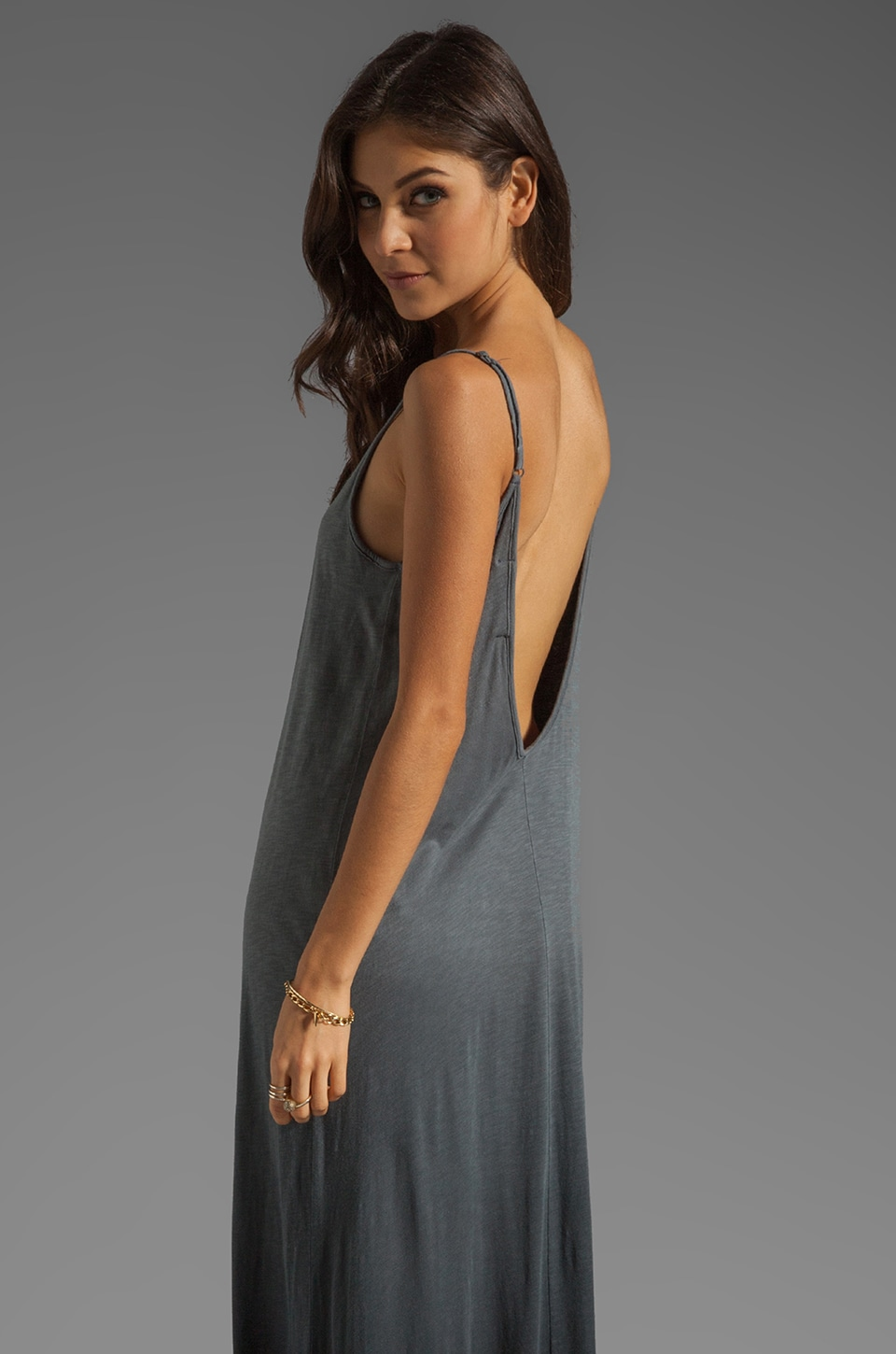 WOODLEIGH Lexi Maxi in Smoke