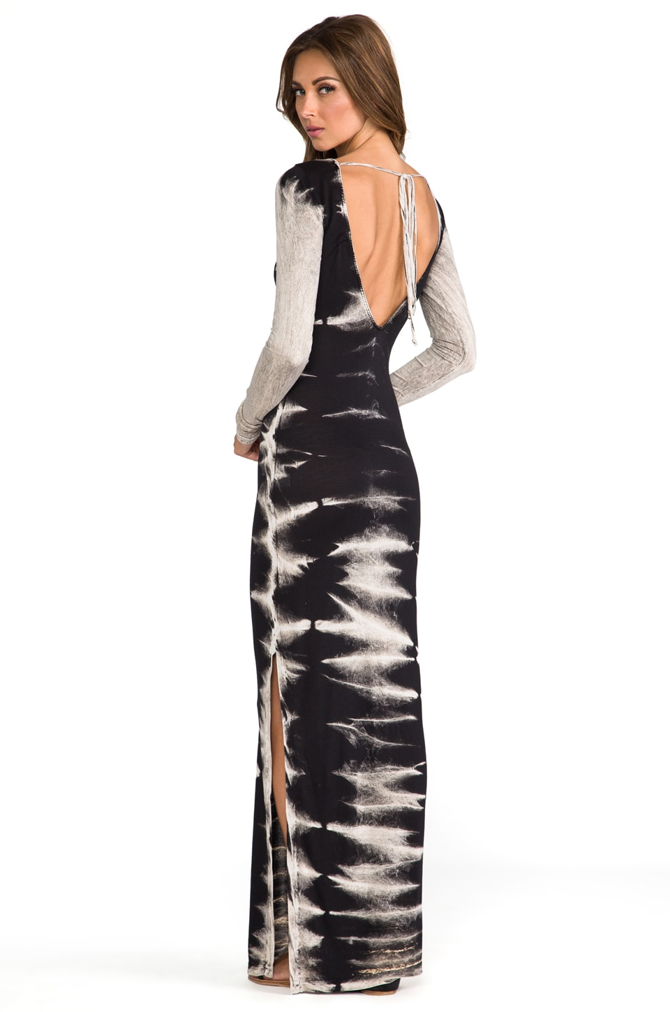 WOODLEIGH Ardis Maxi Dress in Black