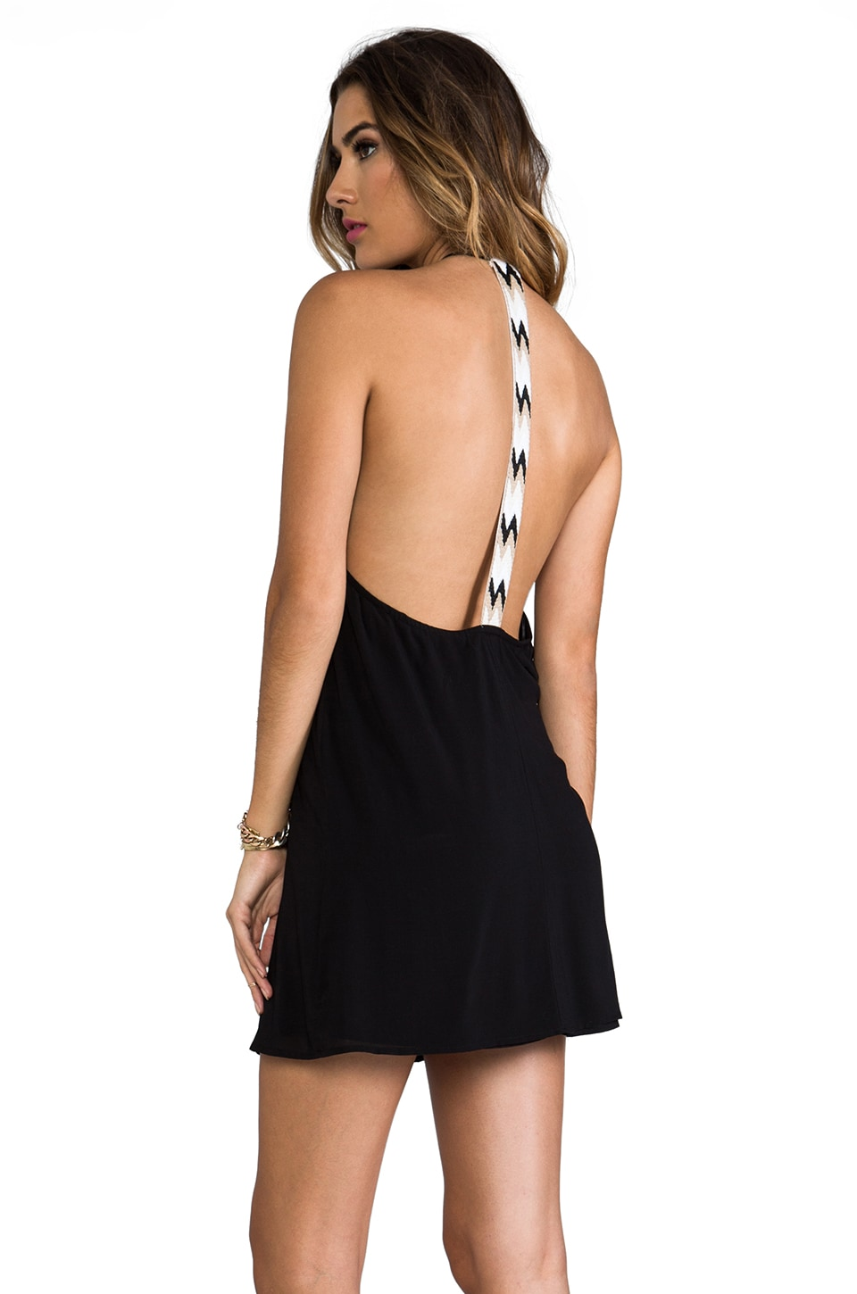 WOODLEIGH Veve Mini Dress in Black