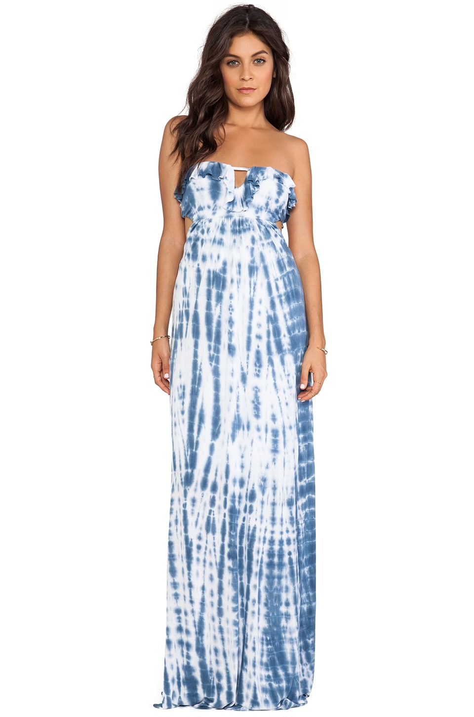 WOODLEIGH Natalia Maxi Dress in Navy