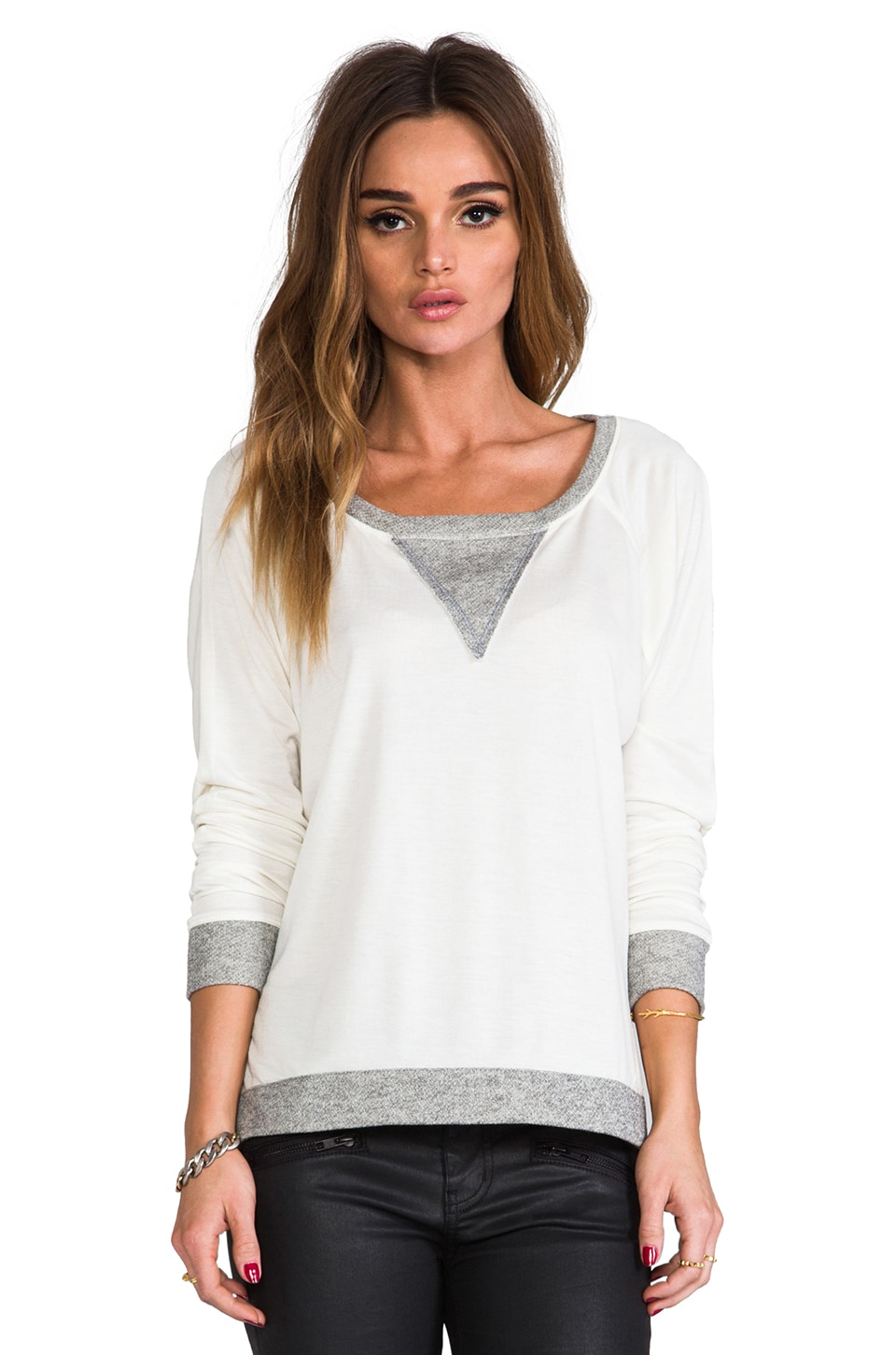 WOODLEIGH Camilla Top in White