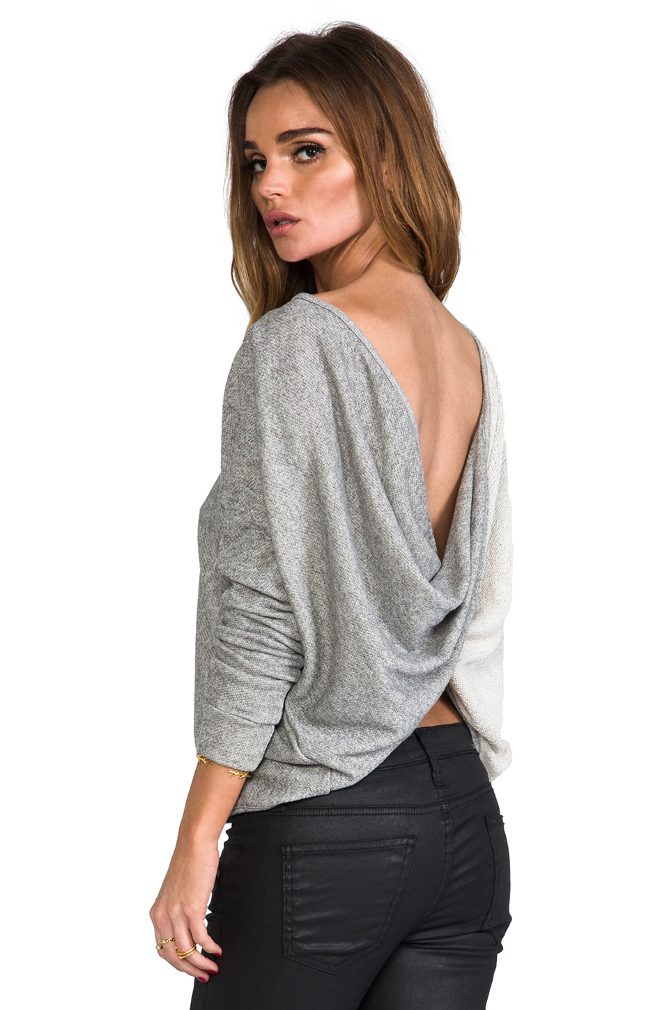 WOODLEIGH Langston Top in Heather