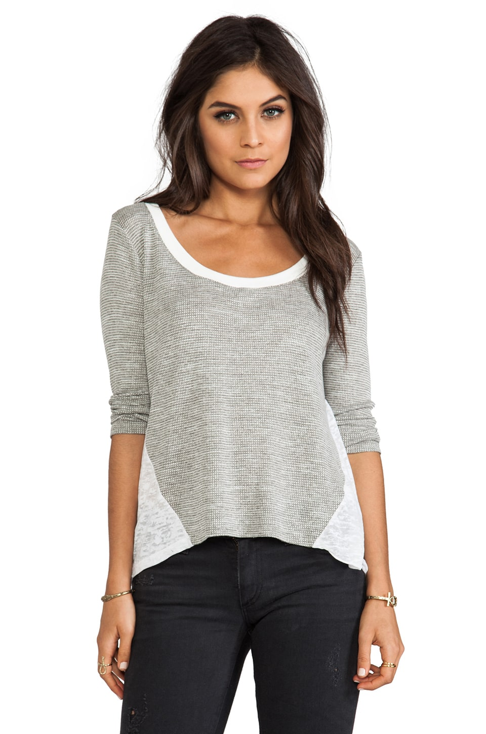 WOODLEIGH Daphne Top in Heather