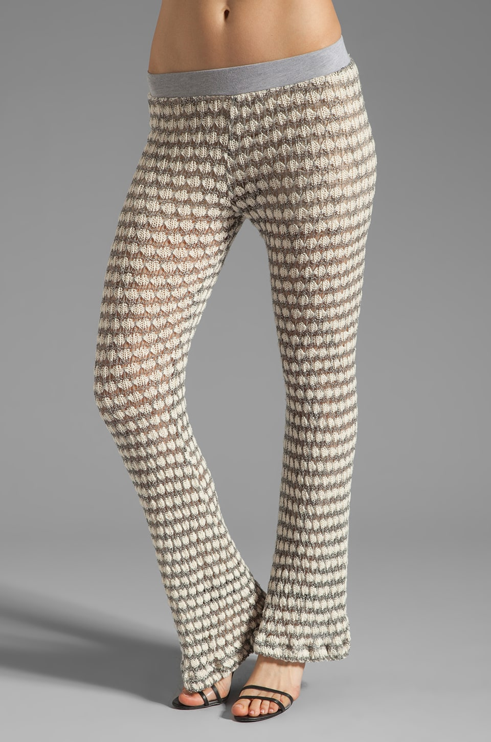 WOODLEIGH Jaqueline Pants in Cream Stripe