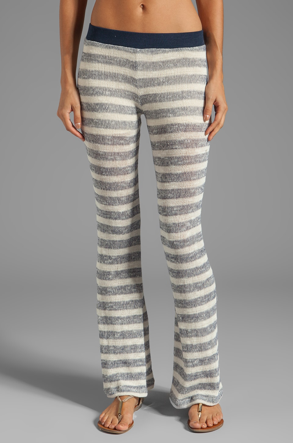 WOODLEIGH Jaquelin Pants in Indigo Stripe