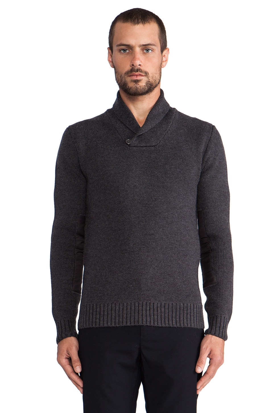 WRK Dorset Sweater in Charcoal