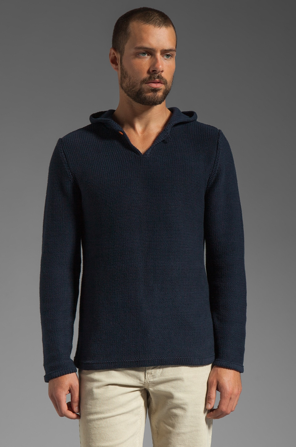 WRK Montauk Hoody in Navy