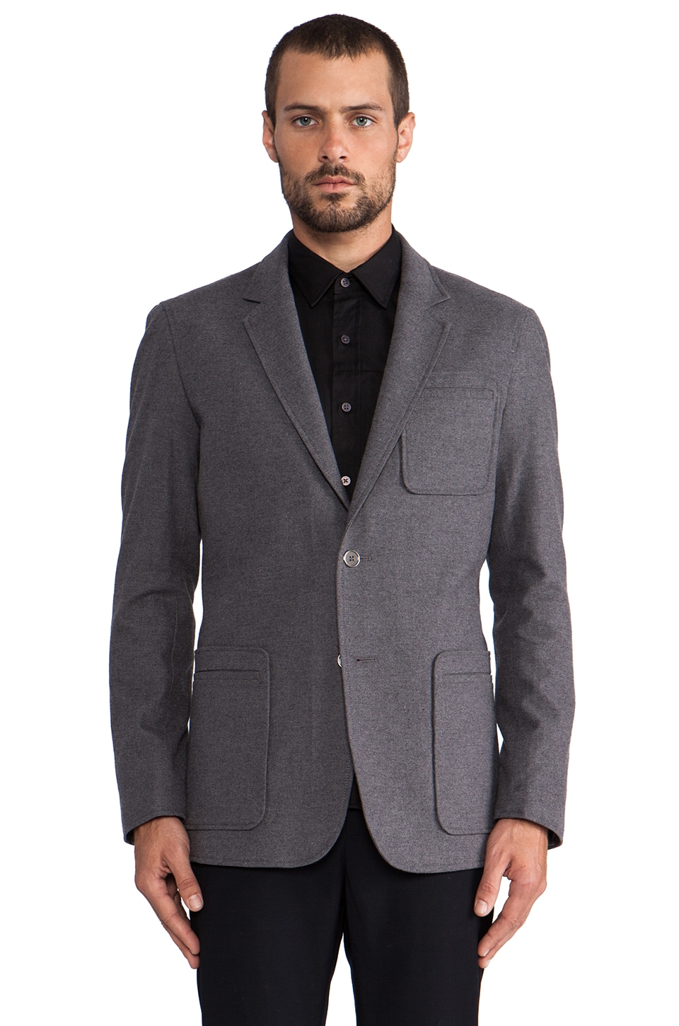WRK Barnes Jacket in Grey