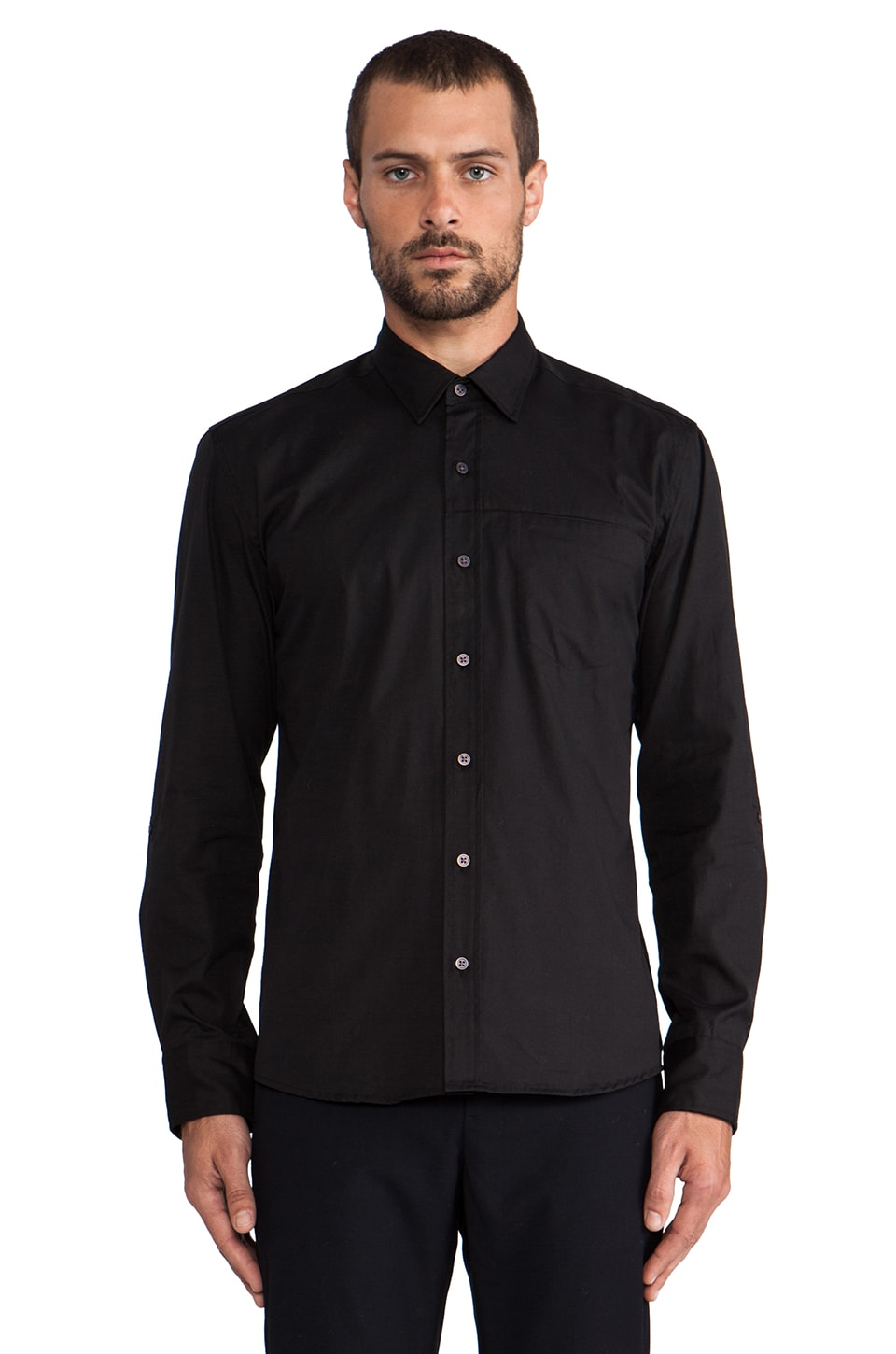 WRK Standard Shirt in Black