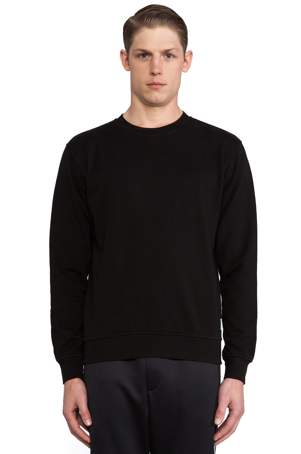 Wood Wood Houston Sweatshirt in Black