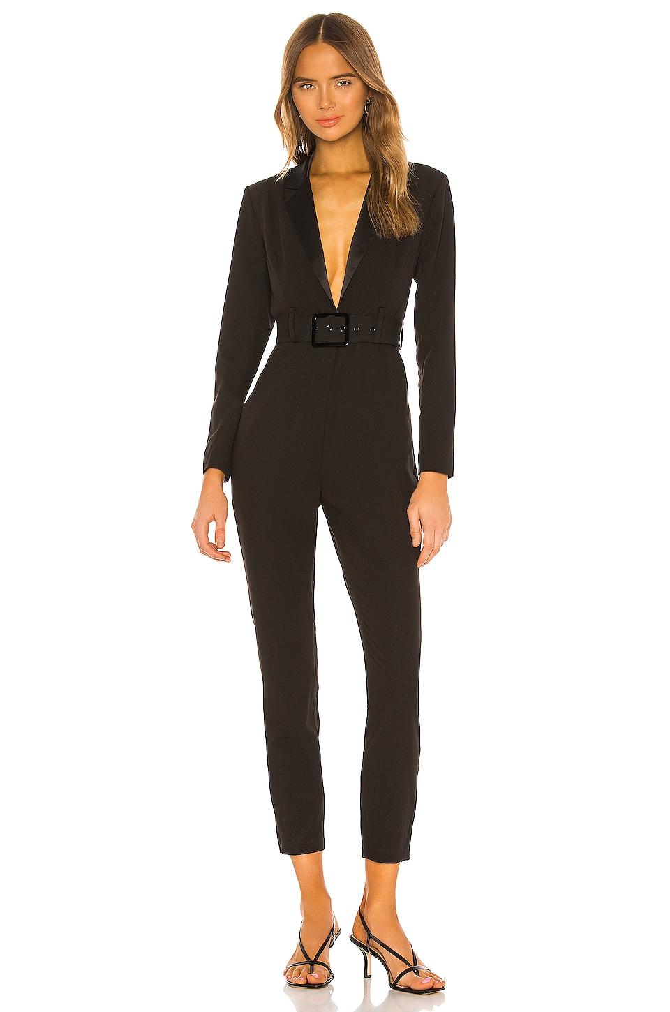 WeWoreWhat Blazer Jumpsuit in Black