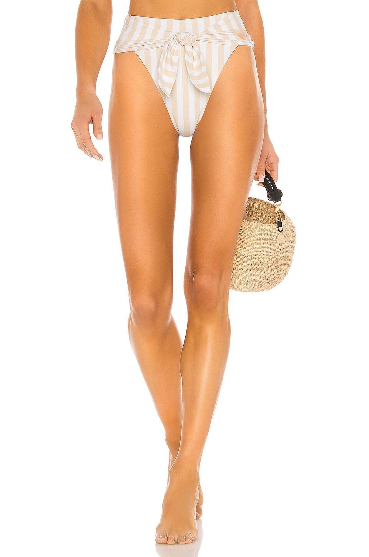 WeWoreWhat Riviera Bikini Bottom in Shortbread