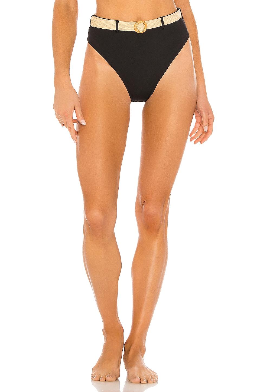 WeWoreWhat Emily Bikini Bottom in Black