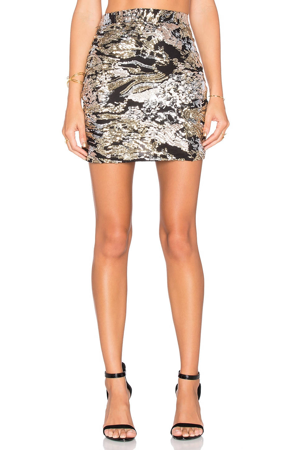 WYLDR Made To Party Mini Skirt in Multi