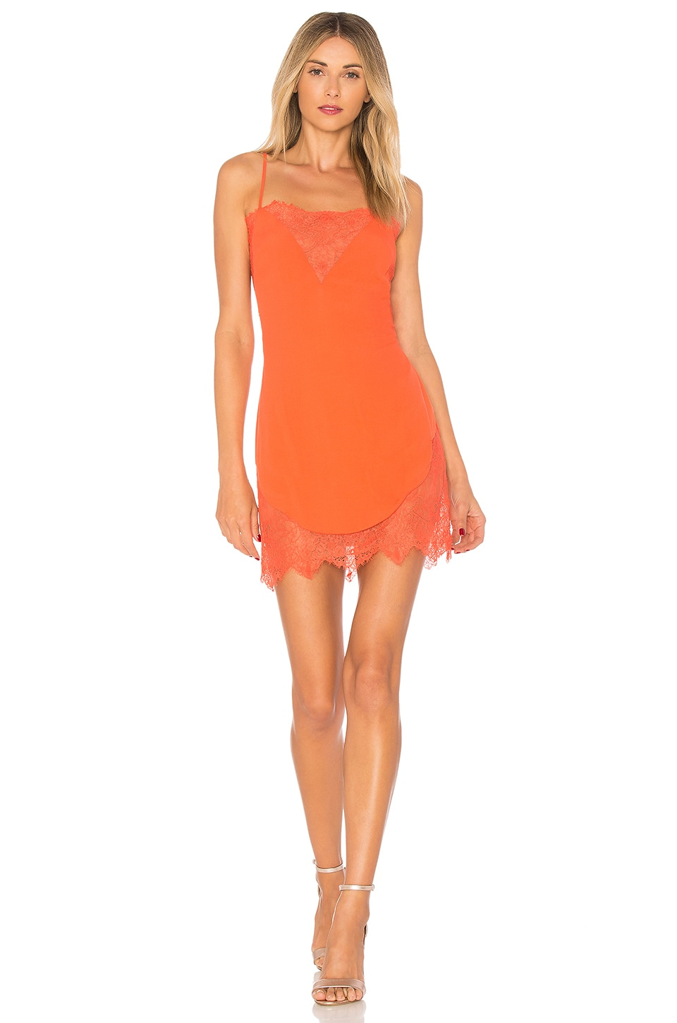 X by NBD Kennedy Dress in Coral