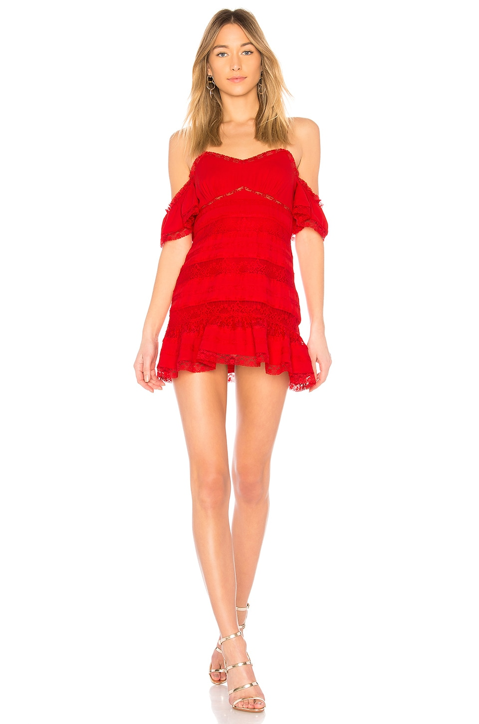 Paige Dress in Red. - size M (also in S,XS) X by NBD