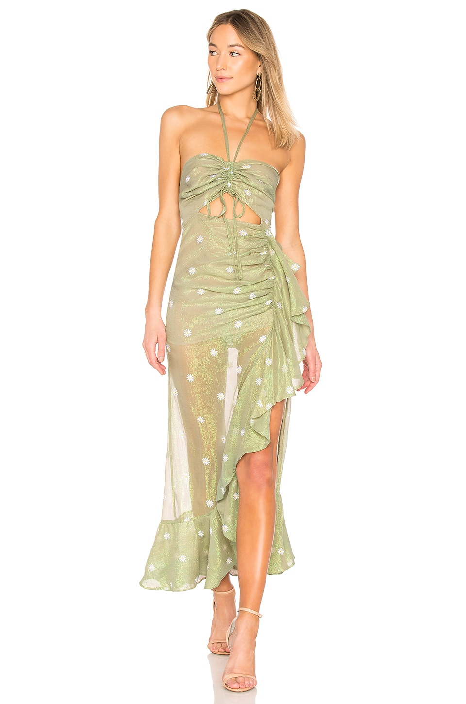 X by NBD Bellisima Dress in Green