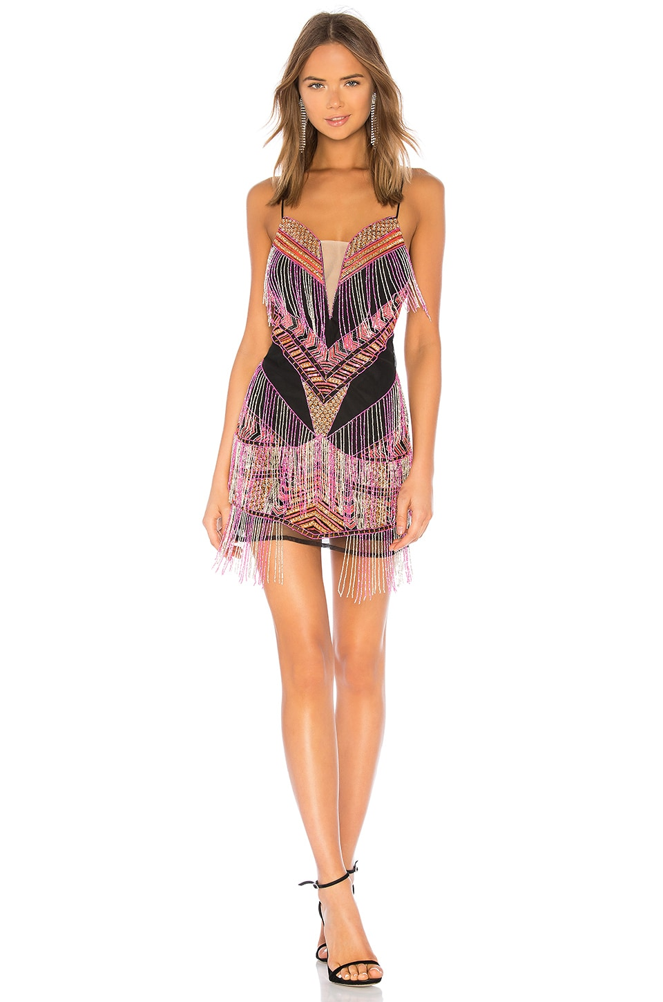 X by NBD Atlantis Mini Dress in Multi Color