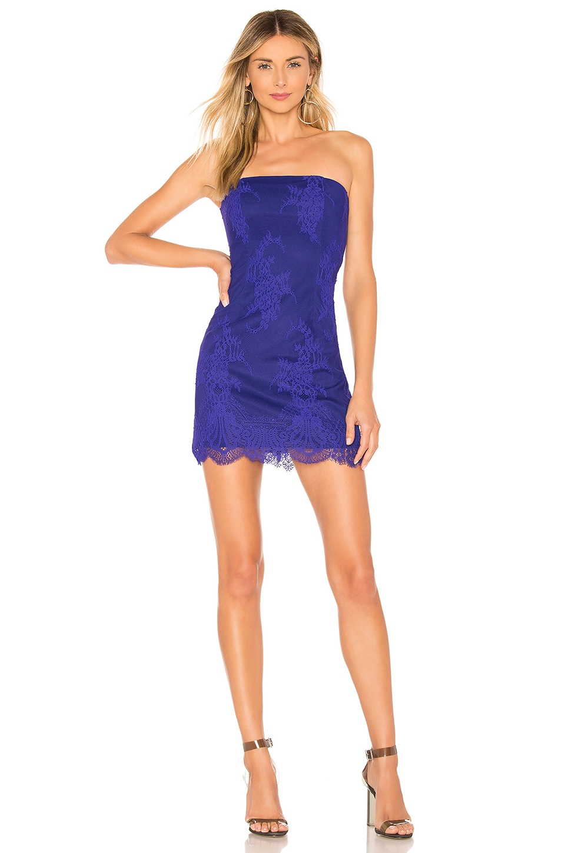 X by NBD Alessandra Mini Dress in Violet