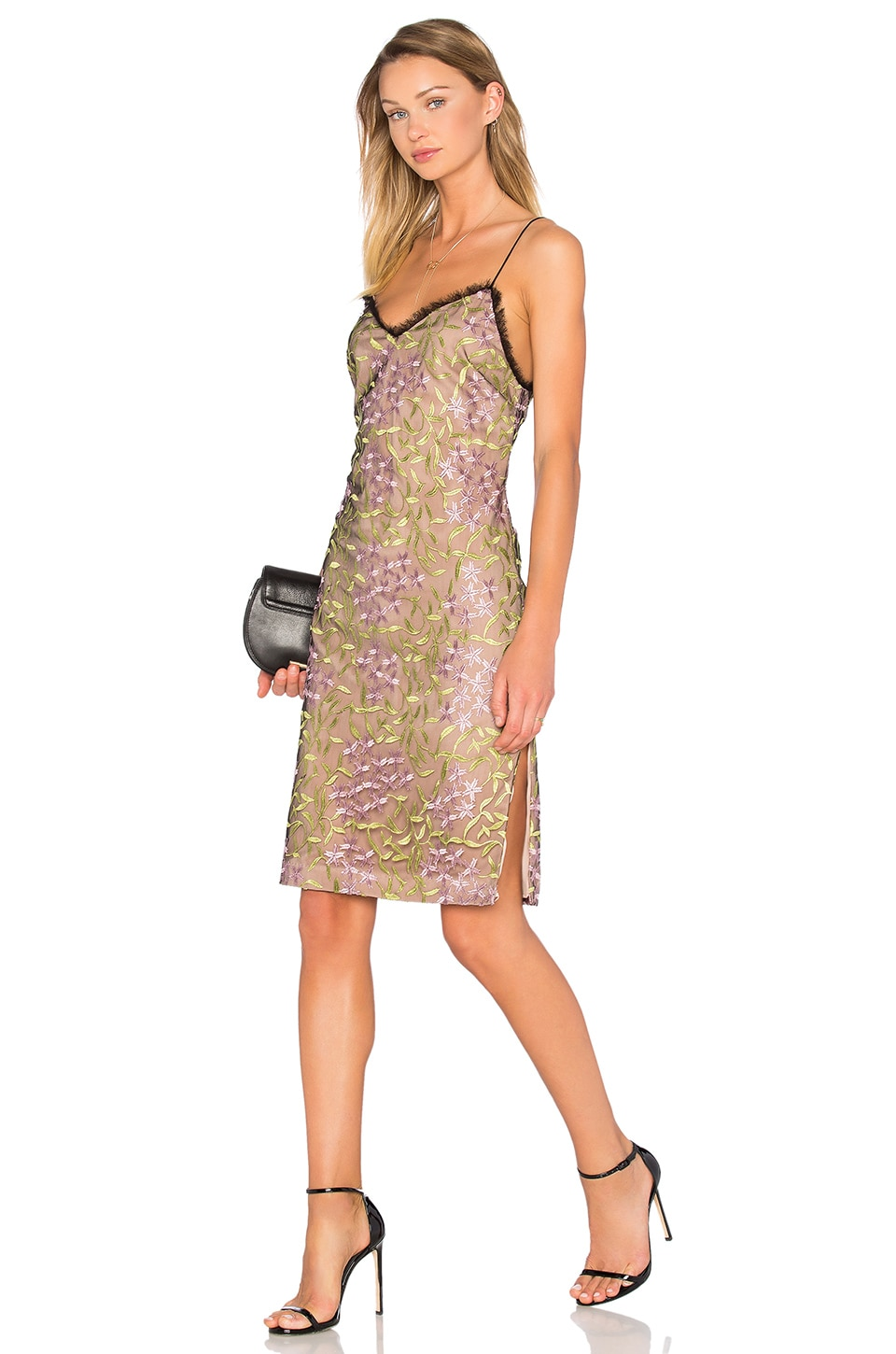 X by NBD Simon Dress in Vineyard