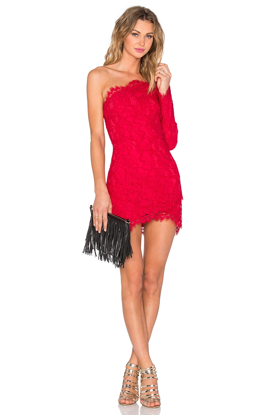 X by NBD Mia Dress in Red