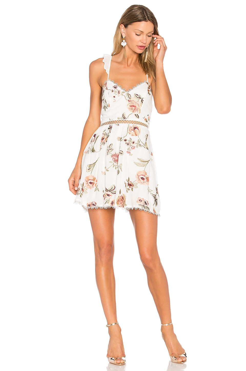 Grady Embroidered Mini Dress by X By Nbd
