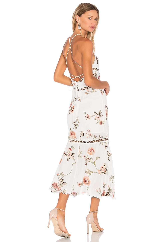 Secora Midi Dress In White. Secora Robe Midi En Blanc. - Size Xs (also In L) Nbd - Taille Xs (également En L) Nbd coZac8dR