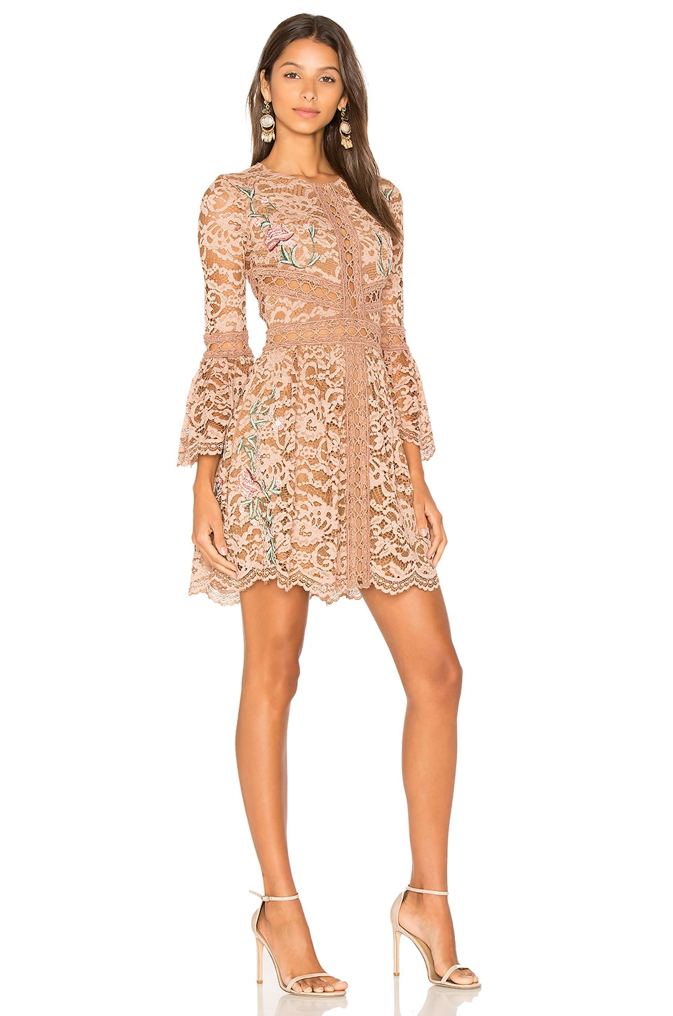 X by NBD Kyle Dress in Nude