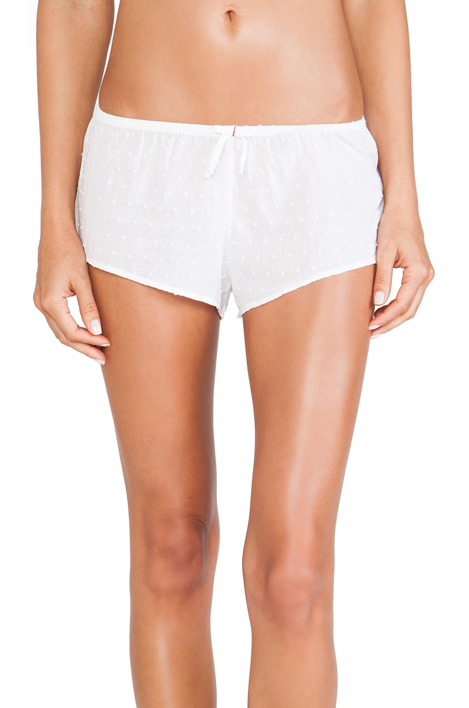XiRENA Shaya Sleep Short in White