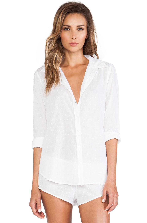 XiRENA Bella Button Up in White