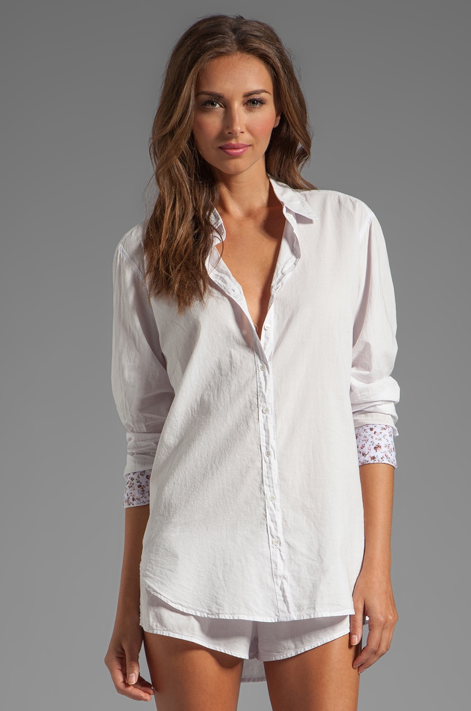 XiRENA Beau Button Up in Lavendar