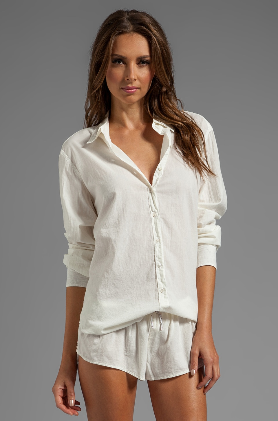 XiRENA Beau Button Up in Natural