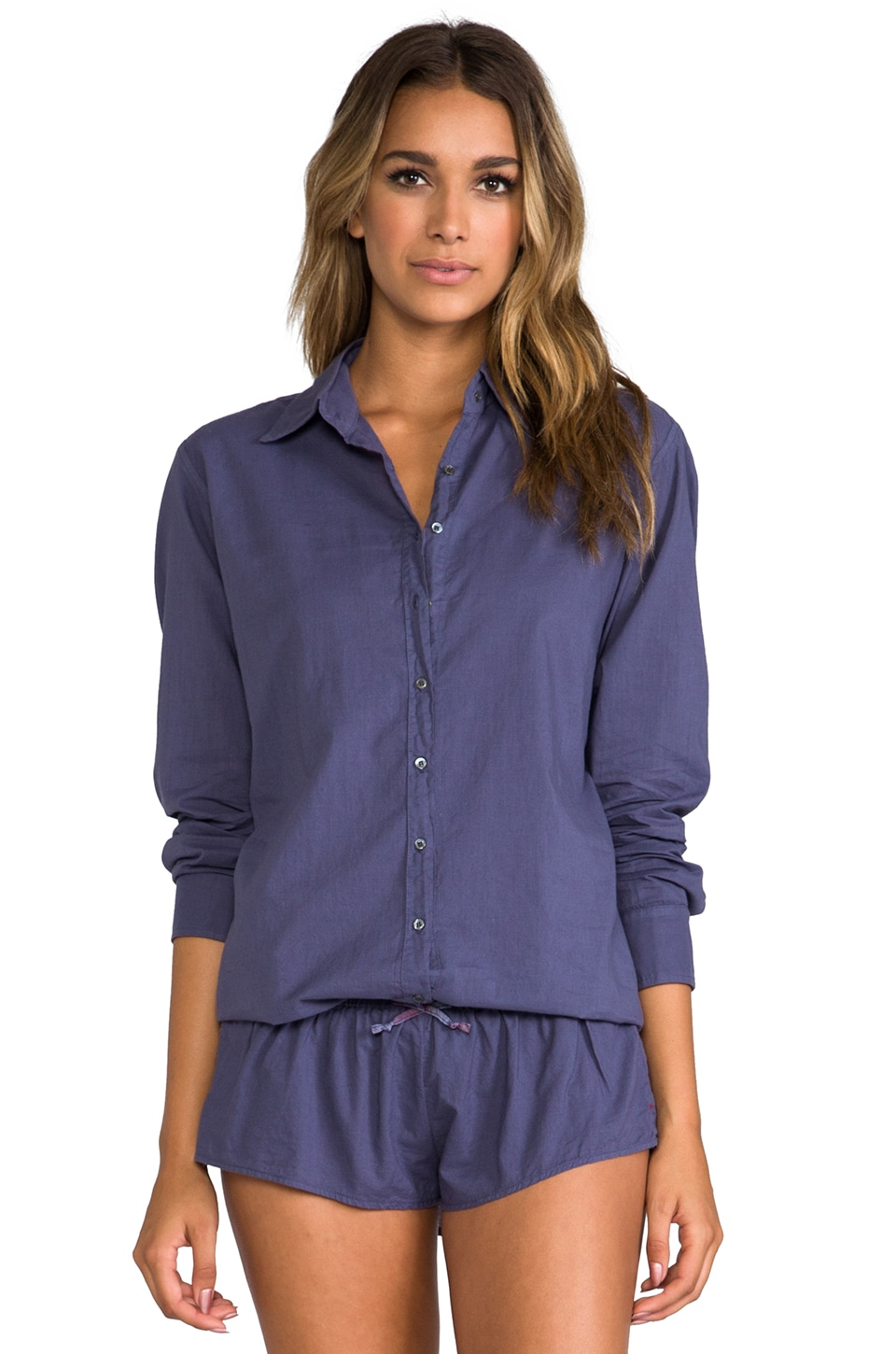 XiRENA Beau Button Up in Nuit