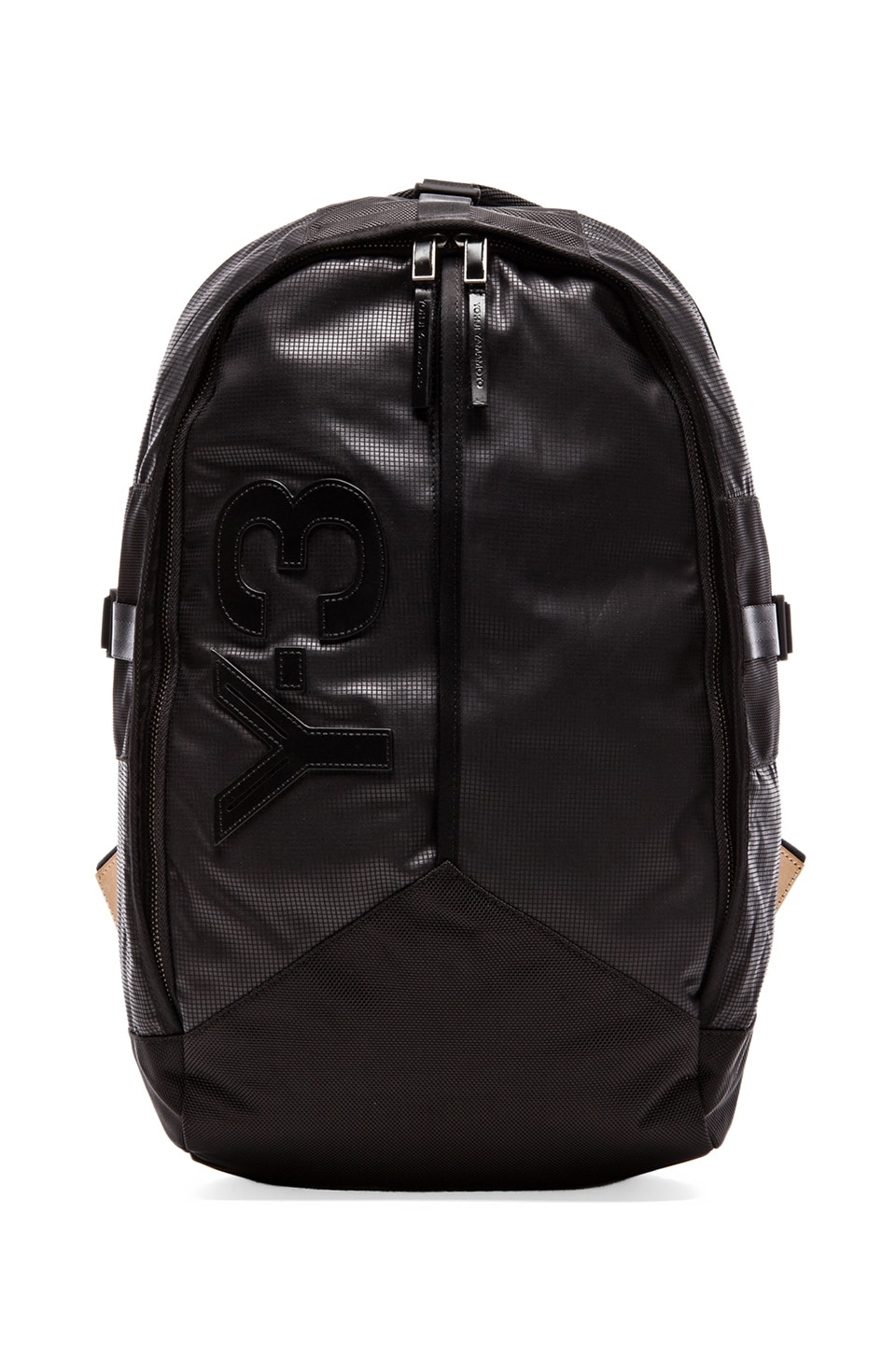 Y-3 Yohji Yamamoto Day Backpack in Y-3 Black