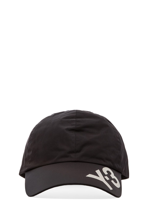 Y-3 Yohji Yamamoto Fit Tech Cap in Black