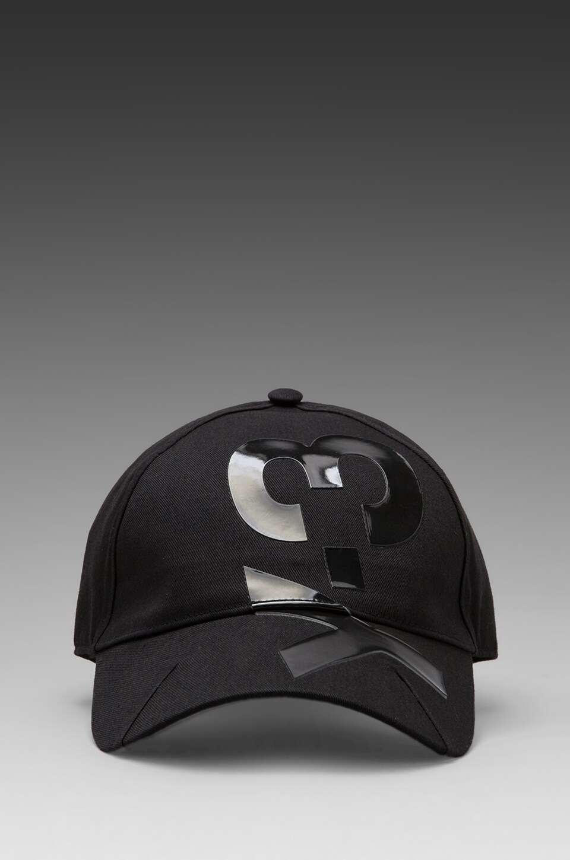 Y-3 Yohji Yamamoto BB Cap in Black