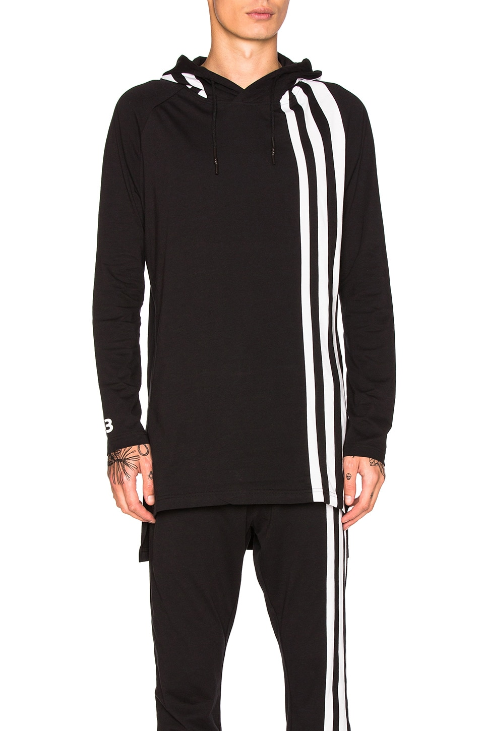 Photo of 3 Stripes Hoodie by Y-3 Yohji Yamamoto men clothes