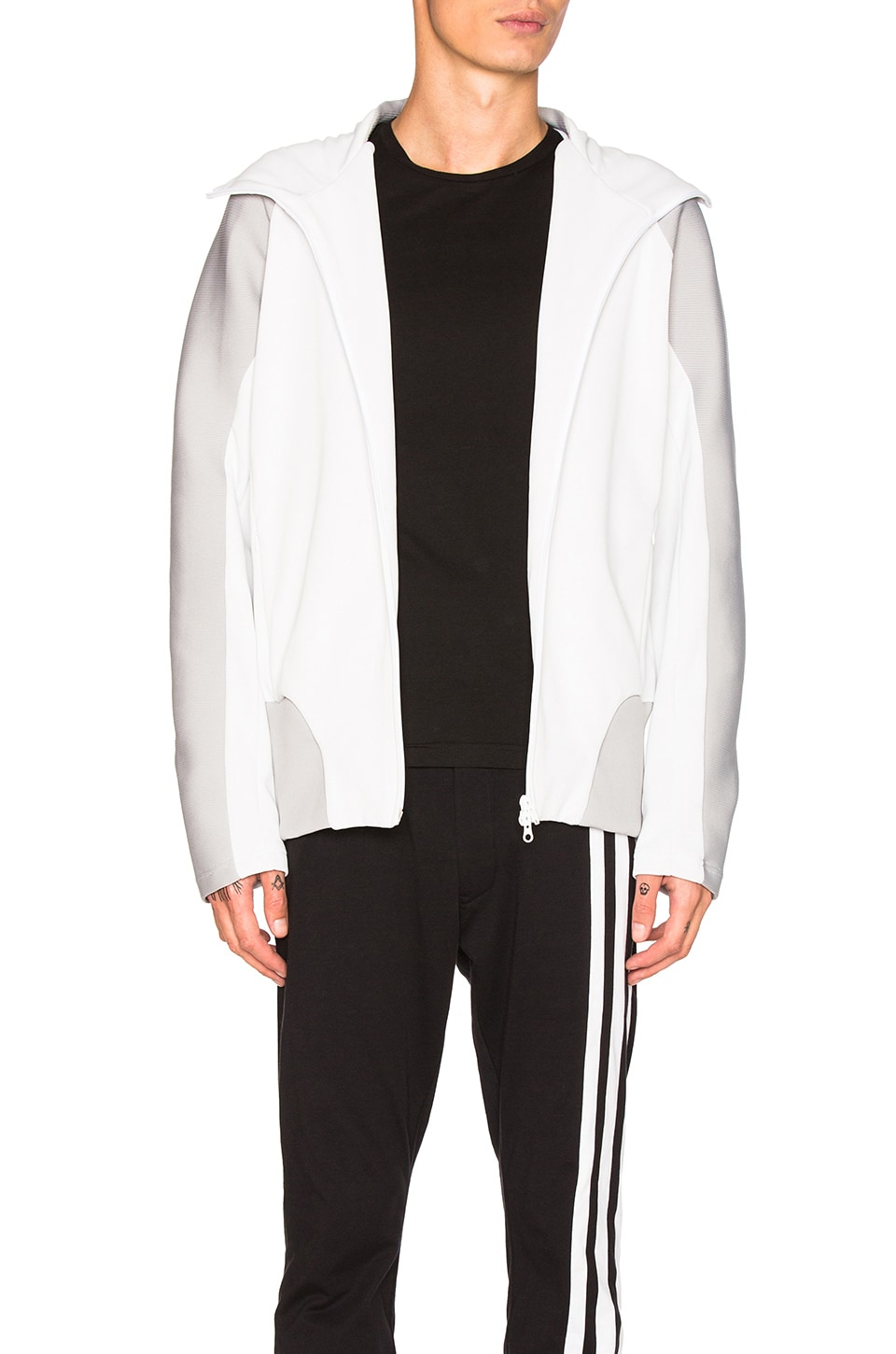 Photo of Core Track Zip Hoodie by Y-3 Yohji Yamamoto men clothes