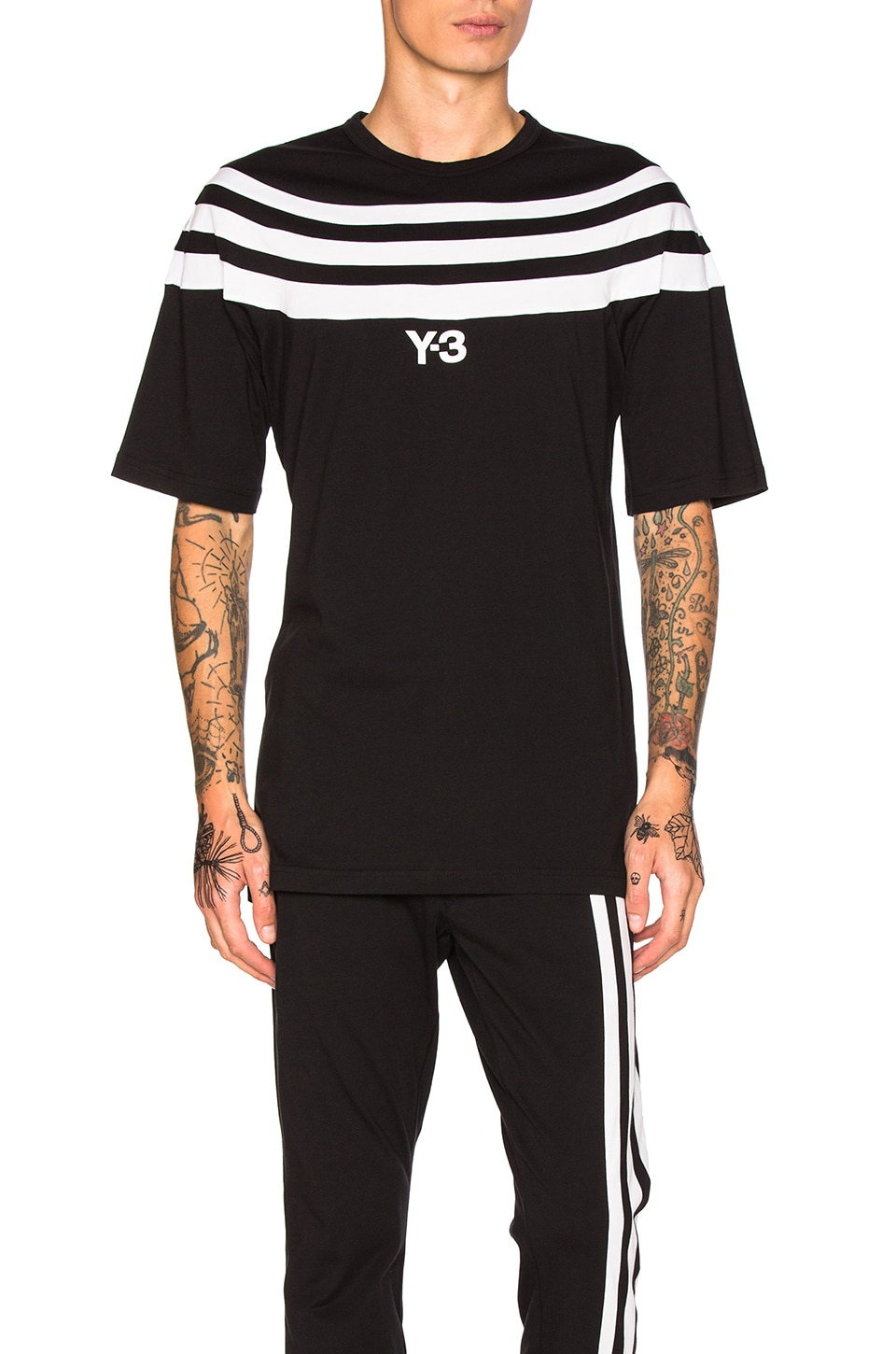 Photo of 3 Stripes Tee by Y-3 Yohji Yamamoto men clothes