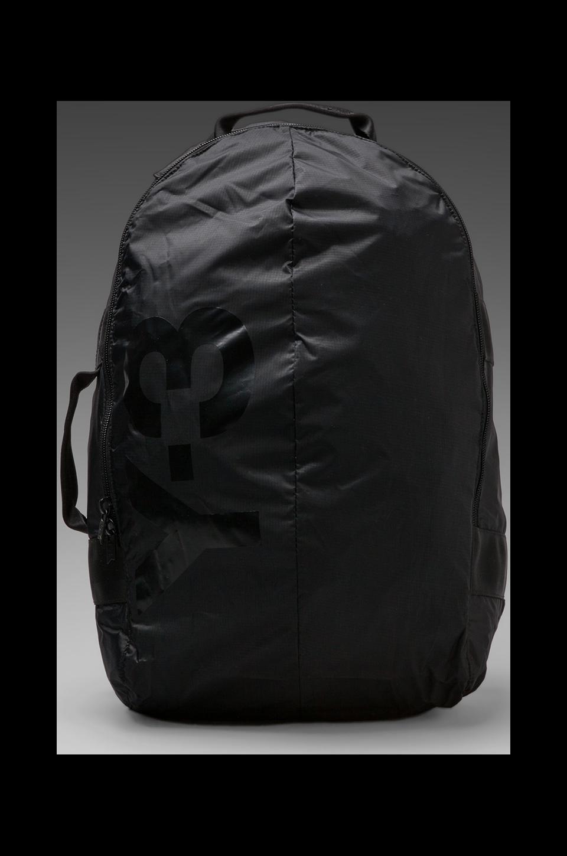Y-3 Yohji Yamamoto PG Backpack in Black