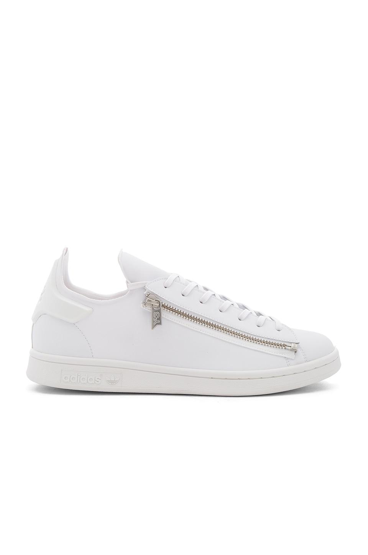 64ca8bb99 Y-3 Yohji Yamamoto Stan Zip in FTW White   Crystal White
