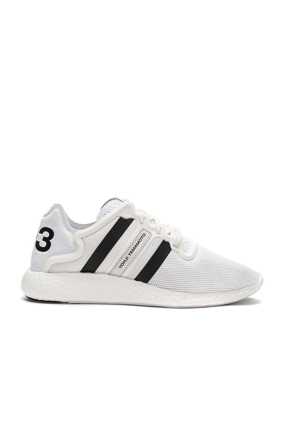 96394c16c62f Y-3 Yohji Yamamoto Yohji Run in FTW White   Crystal White   Core Black