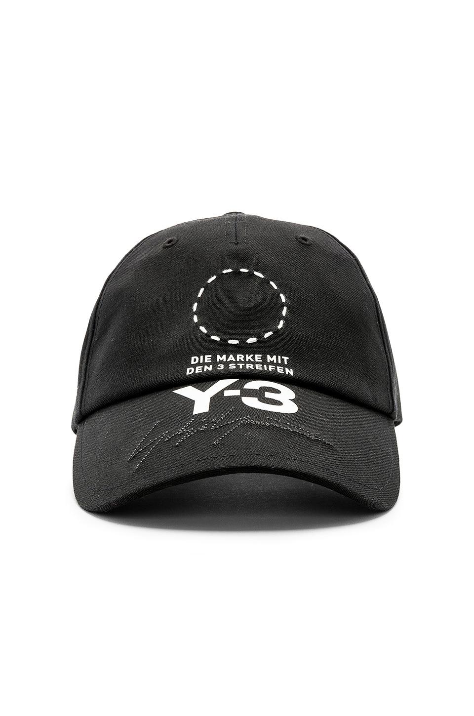 946d289ecccec Y-3 Yohji Yamamoto Street Cap in Black