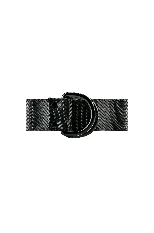 Y-3 Yohji Yamamoto Logo Belt in Black