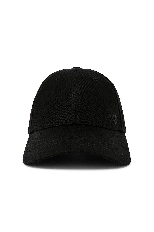Y-3 Yohji Yamamoto Cap in Black