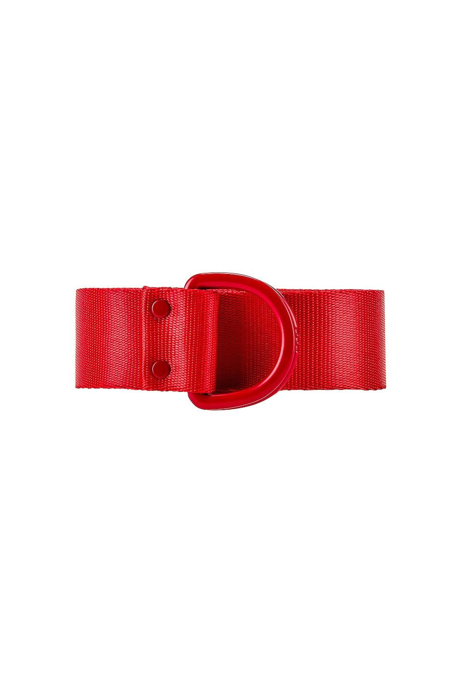 Y-3 Yohji Yamamoto Logo Belt in Red
